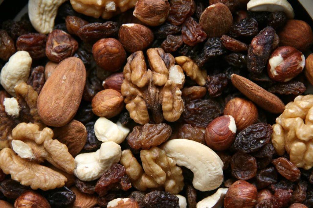 Vitamin B3 Nüsse