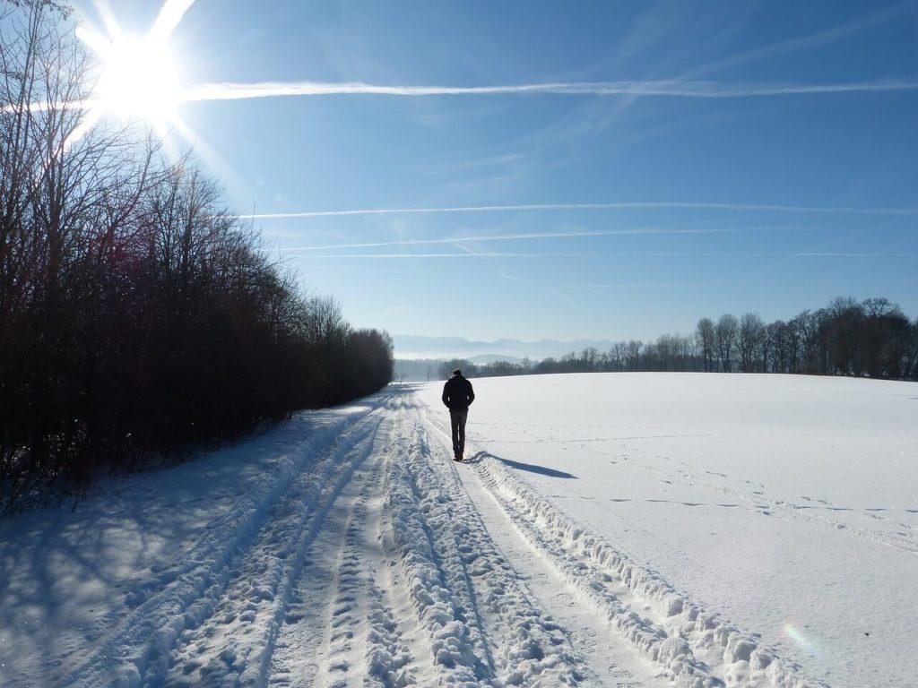 Vitamin D3 durch Sonnenlicht im Winter