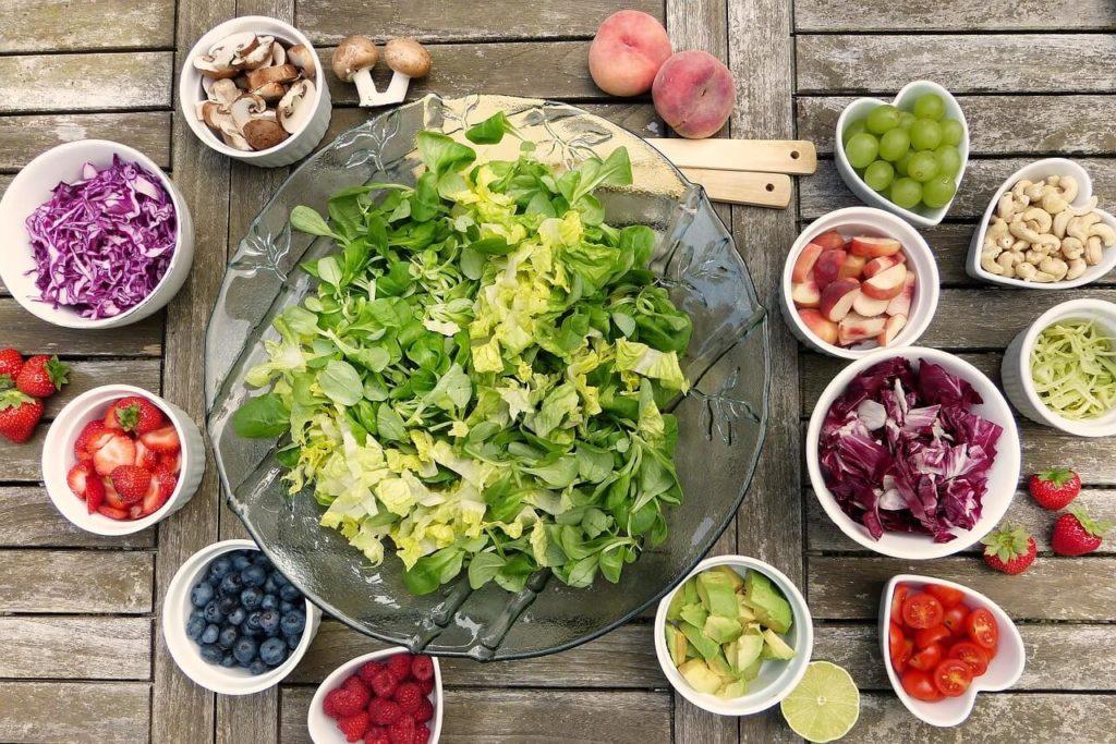 Vitamine - Obst und Gemüse bei Vitaminmangel