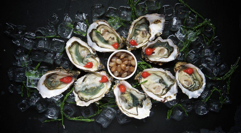 Jod in Austern - Lebensmittel bei Jodmangel